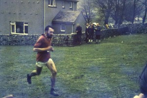 Colin on his way to winning the Three Peaks Fell Race 1969